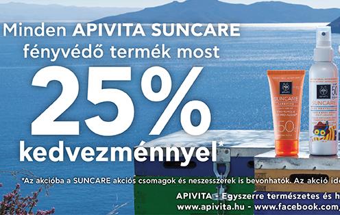 Apivita Fényvédők -25%