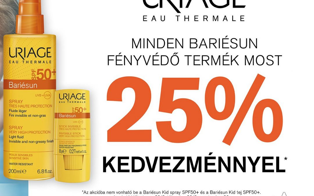 Uriage Bariésun fényvédők -25%