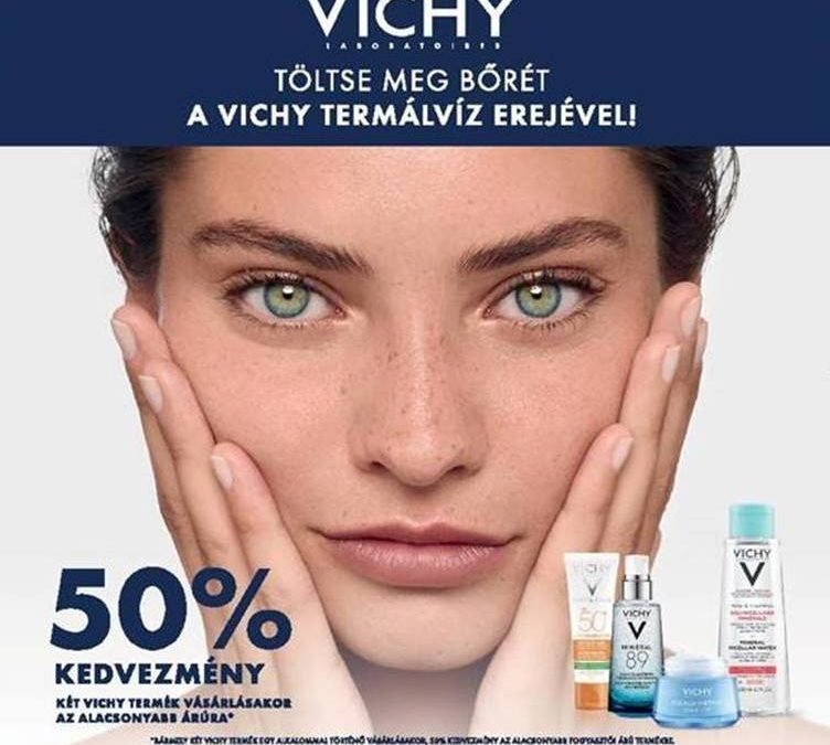 Második Vichy termék 50% kedvezménnyel