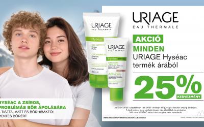 Uriage Hyseac akció