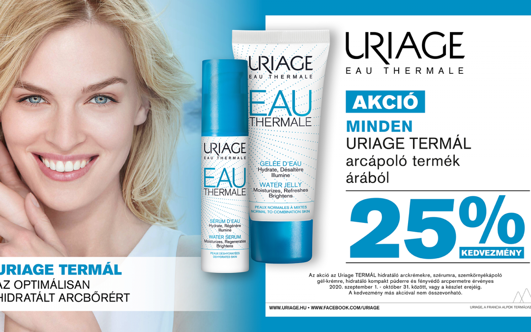 Uriage Thermal akció
