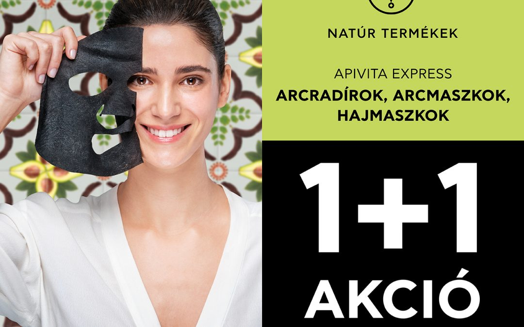 Apivita maszk 1+1